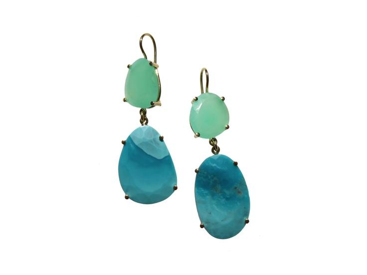 kirsten goss :: double slivers - earrings - shop