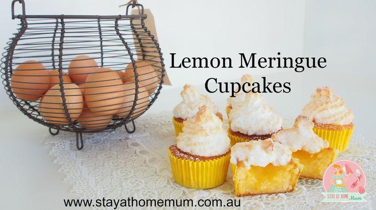 Lemon Meringue Cupcakes | Stay at Home Mum