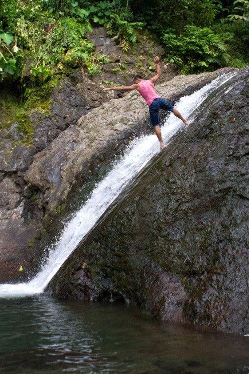Sliding Rocks Western Samoa