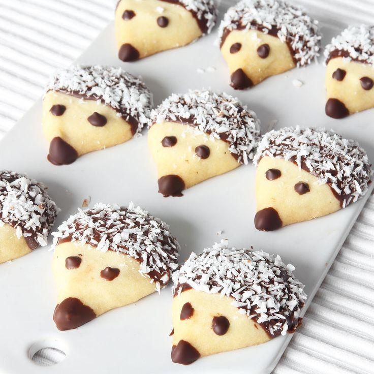 Biscuit cake «Hedgehogs»