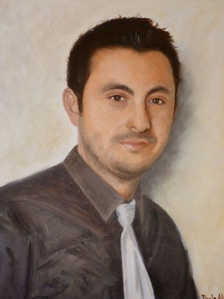 Paola Alì Arts: CUSTOM oil painting portrait canvas from your phot...