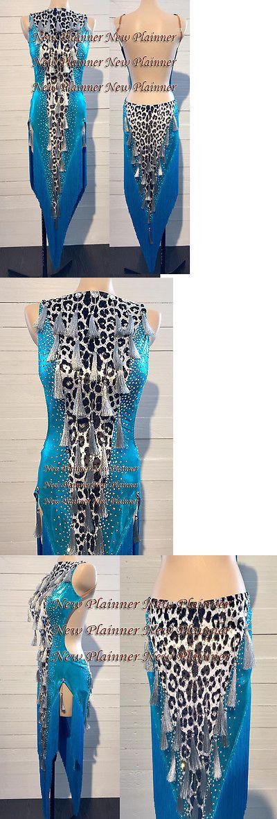Ballroom 152361: L772 Ballroom Latin Rhythm Salsa Rumba Samba Dance Dress Us 6 -> BUY IT NOW ONLY: $360.99 on eBay!