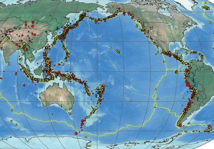 Mapping More Than a Century of Major Earthquakes Around the World