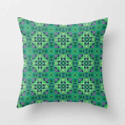 Tile Collection #5 cushion by Peta Herbert $20.00 @ #Society6