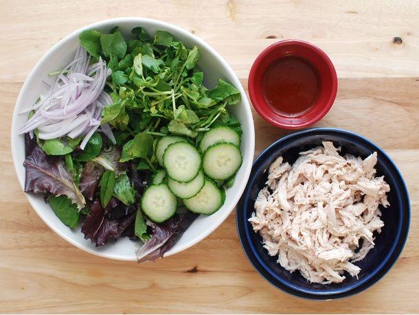 Gochujang chicken salad