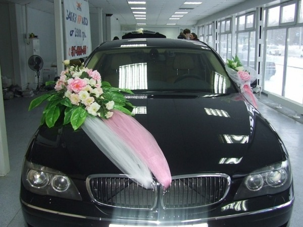 Bryllup bil blomster bryllup pinterest for Auto decoration in pakistan
