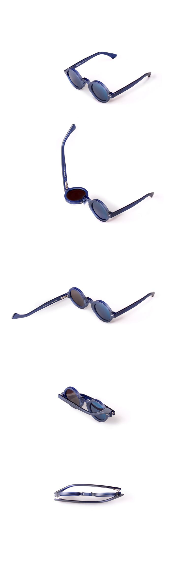 Movitra 215 - Cristallo blu con lente flash blue sky  #sunglasses #movitra #movitraspectacles #spectacles #glasses #eyewear