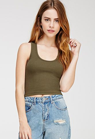 Ribbed Crop Tank | Forever21 - 2000114950