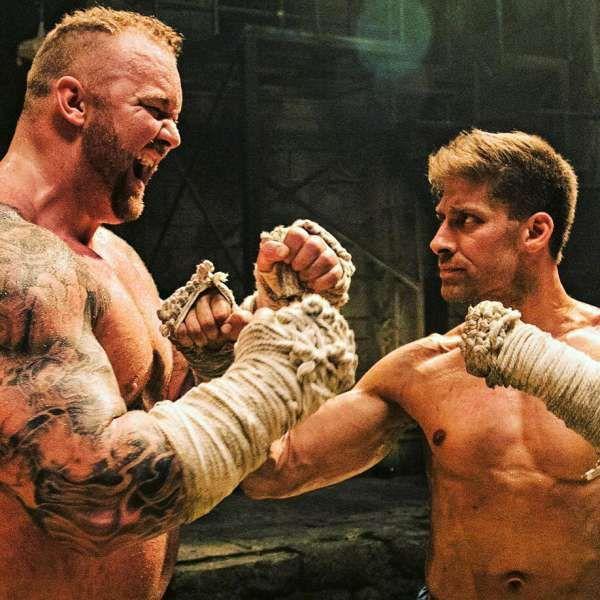Kickboxer Retaliation movie review: Jean-Claude Van Damme, Christophe Lambert, Alain Moussi, Mike Tyson and 'The Mountain' from GOT.  https://funnyactionmovies.com/kickboxer-retaliation-movie-review/