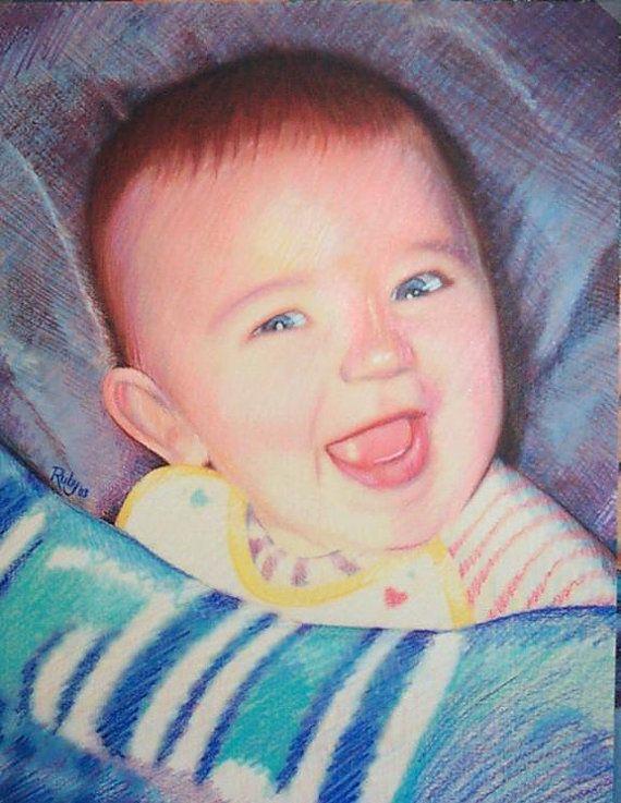 One Subject Custom Pastel Portrait