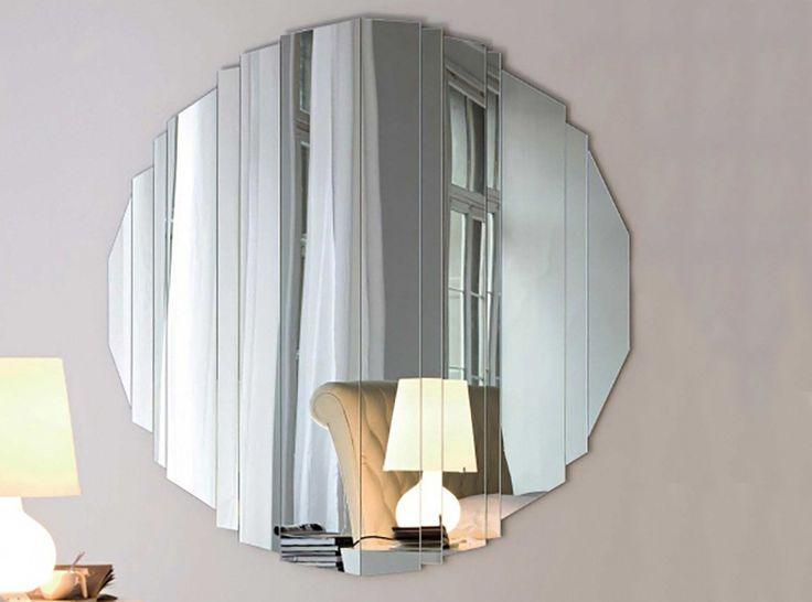 Stripes Round Wall Mirror by Cattelan Italia - $1,150.00