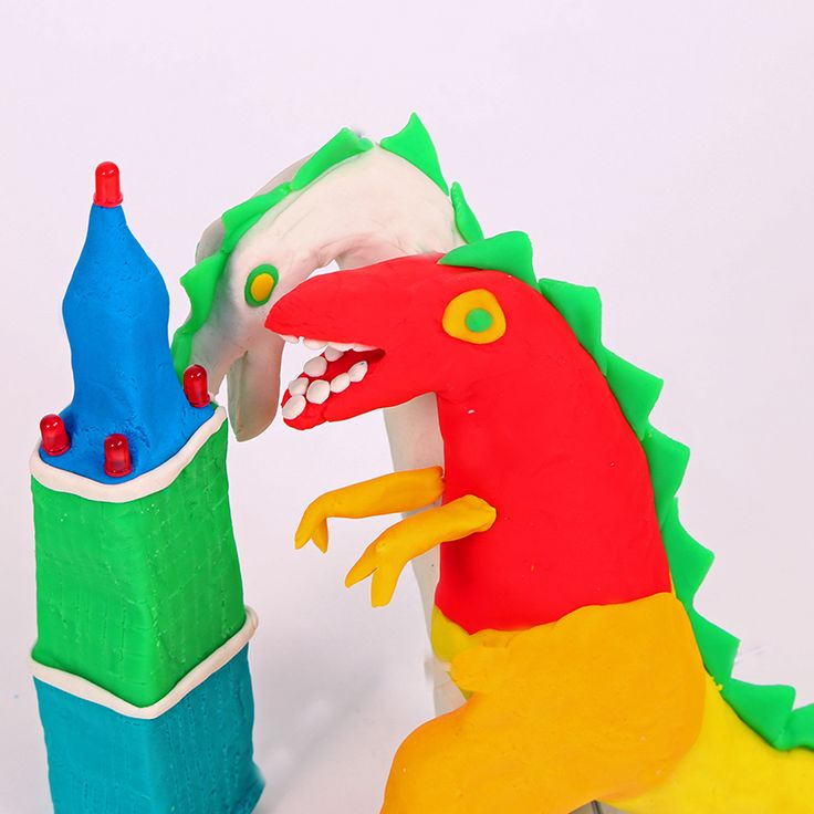 Create shapes, make your favourite animals, construct cities using electronic play dough!