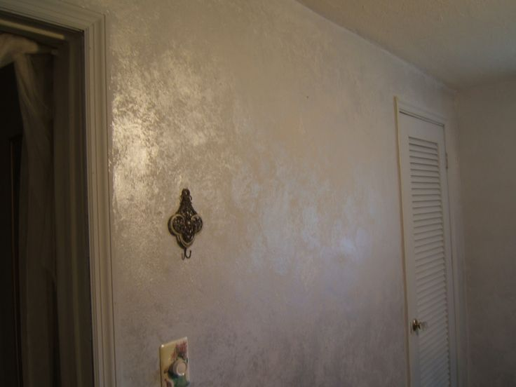 Ethereal Silver Bedroom White Wall Paint Metallic Paint Walls Silver Walls