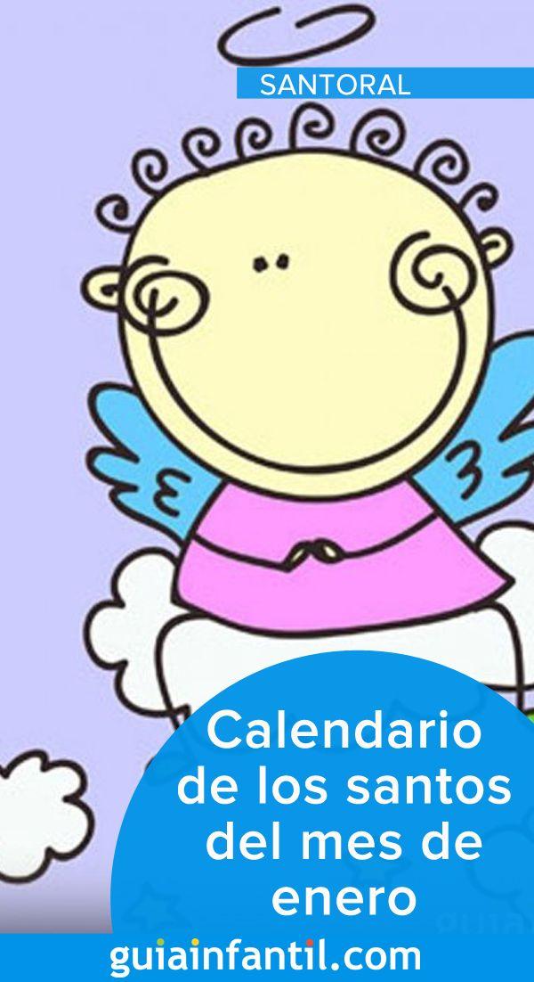 Calendario De Los Nombres De Santos De Enero Nombres Nombres De Bebes Calendario De Santos