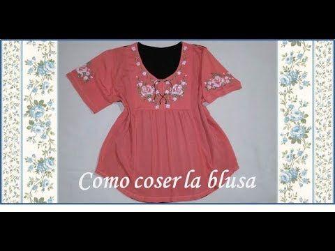 ♥ Como coser la blusa ♥ Parte 1/2 ♥