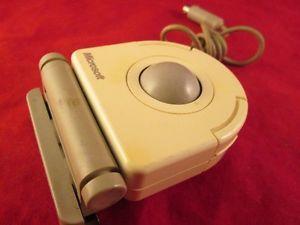 Vintage Microsoft BallPoint PS2 Trackball Mouse 36750 LR84972 #vintagegaming #techvana