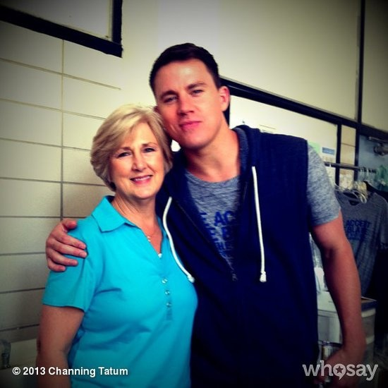 Channing Tatum shared a photo of himself with his mom and sent out Mother's Day love to his wife Jenna Dewan-Tatum.