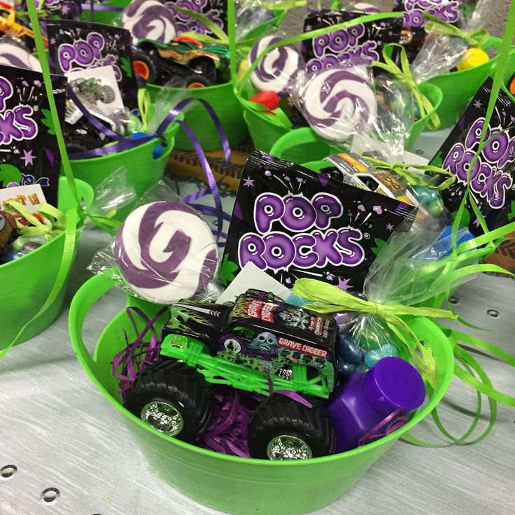 Monster Jam party favor