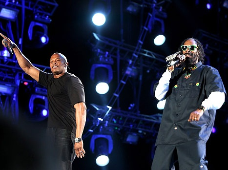 When Dr Dre does something, he does it good.. incredible show with Snoop Dogg on Coachella 2012! With guest appearances from 50 Cent, Eminem, Kendrick Lamar, Wiz Khalifa and a beautiful created hologram off 2Pac. Video: http://www.youtube.com/watch?v=ccvy29sr1ik