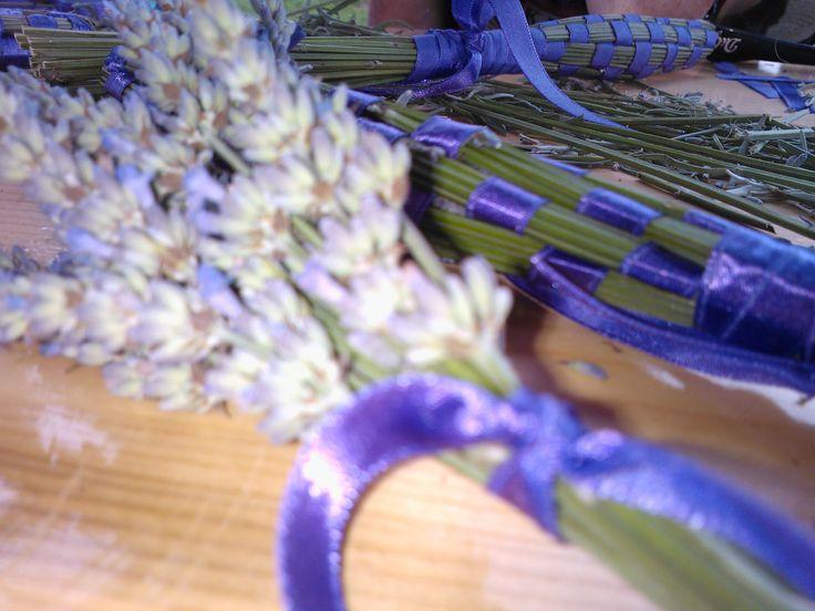 lavender bouquet in Bergendócia