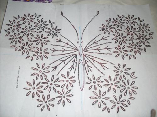 Moldes para bordado en cinta - Imagui