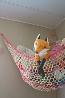 Ravelry: Stuffed Animal Storage Hammock - CROCHET PATTERN