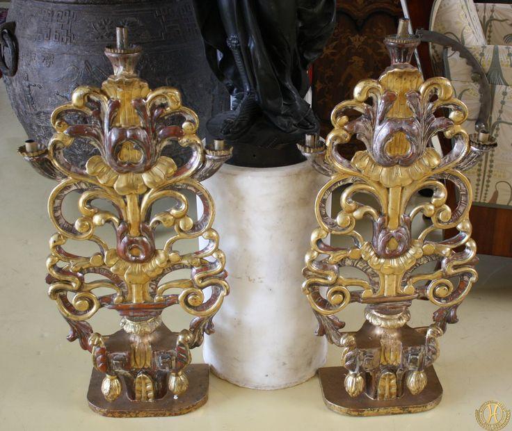 Barocke Altaraufsätze - Antik Möbel Hesz