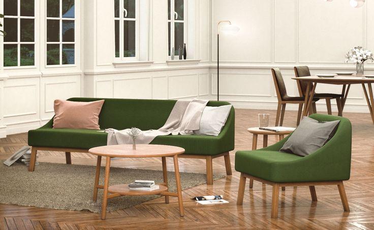 Inspirasi sofa anggaran minim