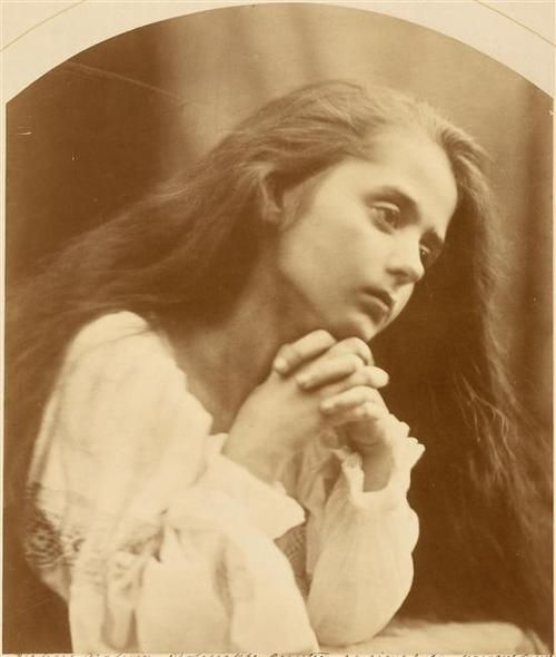 One of Julia Margaret Cameron's evocative photographs.