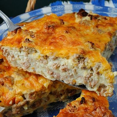 IMPOSSIBLE CHEESEBURGER PIE  Jules Blog makes this delicious casserole dish even healthier with switching out ingredients.