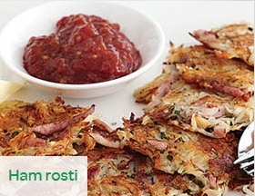 Boxing day comes with a whole lot of new issues. What do you do with the left over meat?! Try this easy recipe using left over ham.