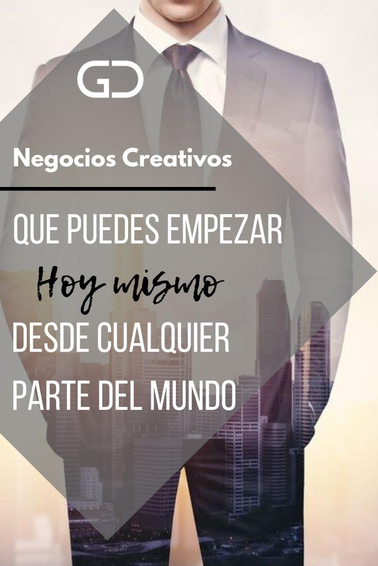 Negocios creativos que puedes empezar hoy mismo