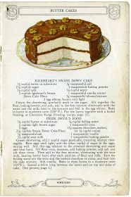 "I did a post on February 20, 2011 entitled "" Swans Down Vintage Recipe s"" which was about an old cookbook that contained lovely illustratio..."