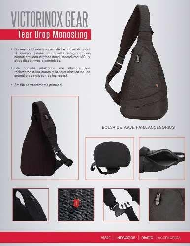 bolsa de viaje victorinox para accesorios