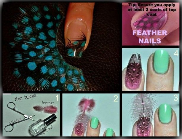 nog een idee voor je nagels, simpel maar oooo zo mooi ;)