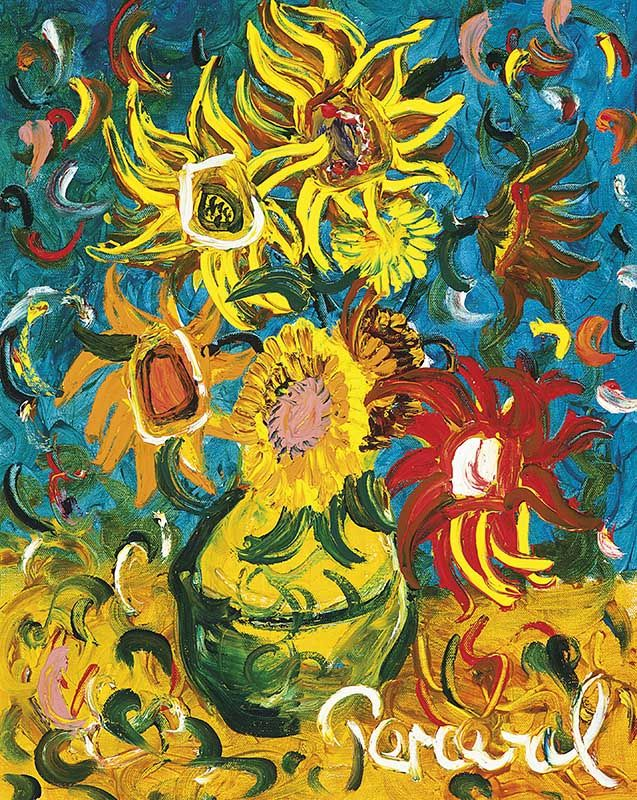 Sunflowers by John Perceval