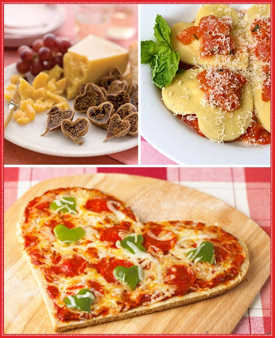 Heart Shaped Valentine's Day Food
