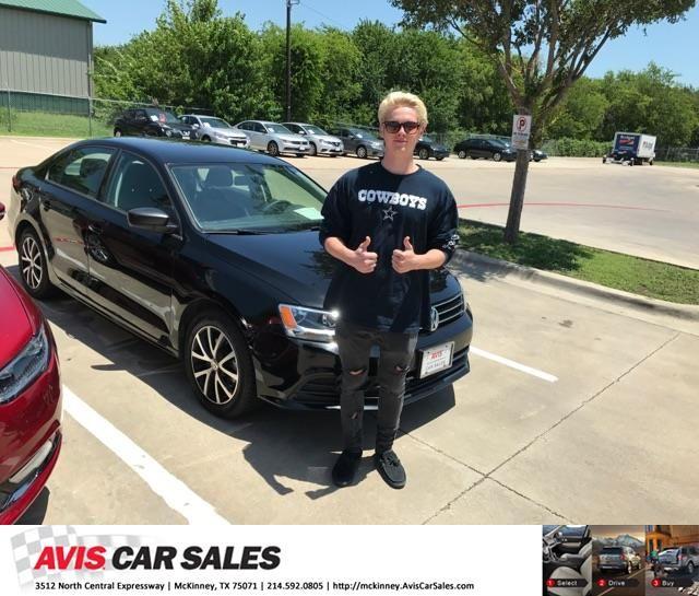 Congratulations John on your #Volkswagen #Jetta Sedan from Jim Proctor at Avis Car Sales McKinney!  https://deliverymaxx.com/DealerReviews.aspx?DealerCode=S620  #AvisCarSalesMcKinney