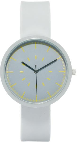 Grey Minimal Watch - River Island