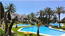 Apartment in Marbella, Costa Del Sol, Spain 2 Bedroom apartment to rent in Puerto Banus, Nueva Andalucia, Marbella, Malaga Costa del Sol, Spain amongst stunning subtropical, mature gardens swimming pools