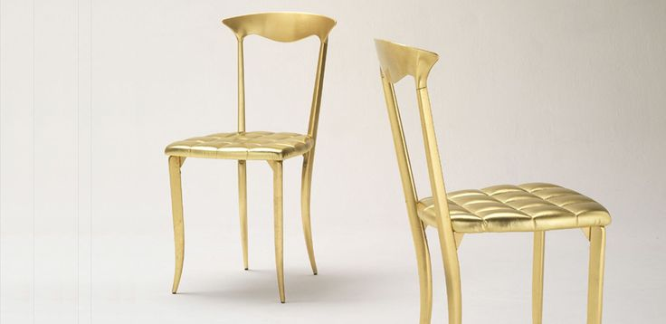 Современные стулья Charme от Fasem, дизайн Archirivolto