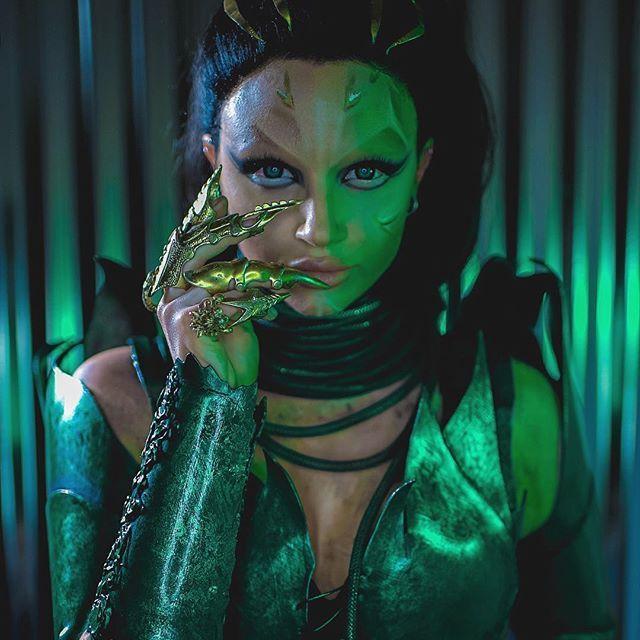 Rita Repulsa recreation from the new @powerrangersmovie Uhmazing costume by @alexapoletti