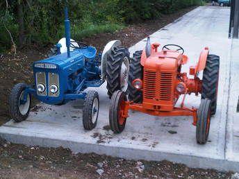 Fordson Dexta and Fiat 25R