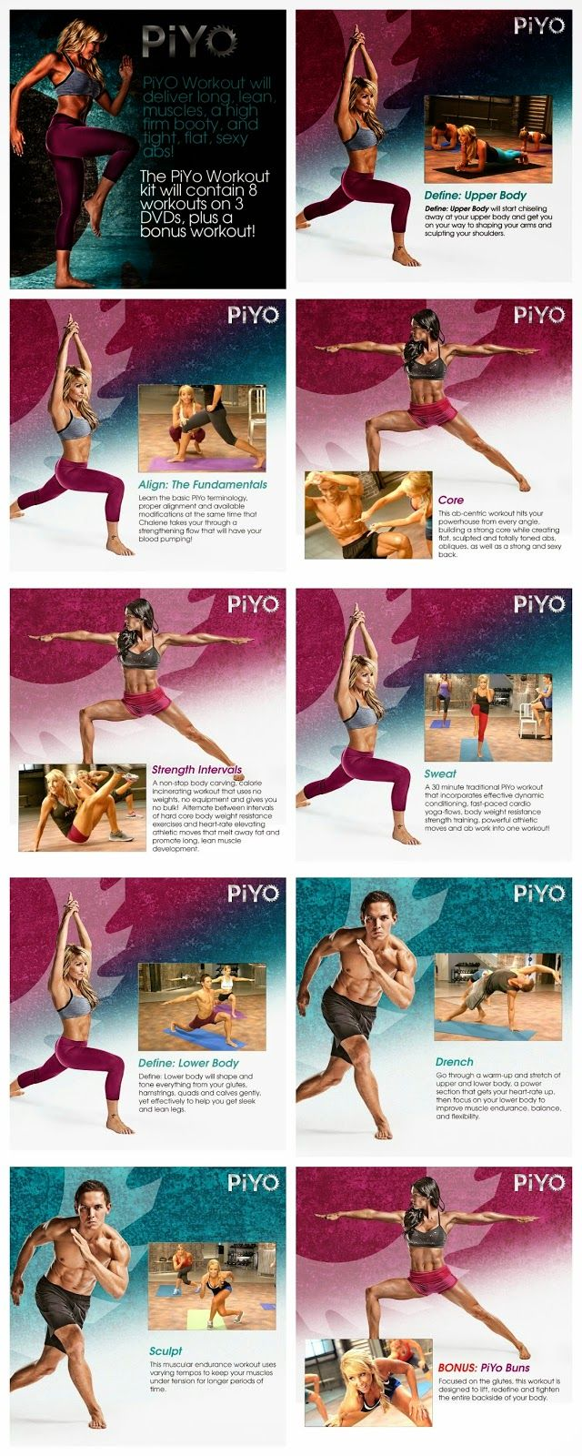 You get all of this when you order PiYo! Only Available from a Beachbody Coach.  http://papasteves.com