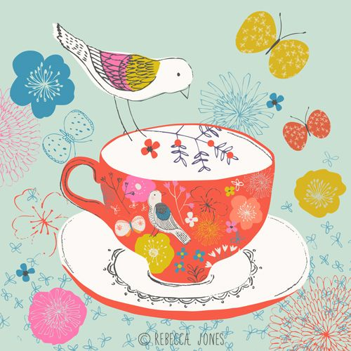 Rebecca Jones - Teacup