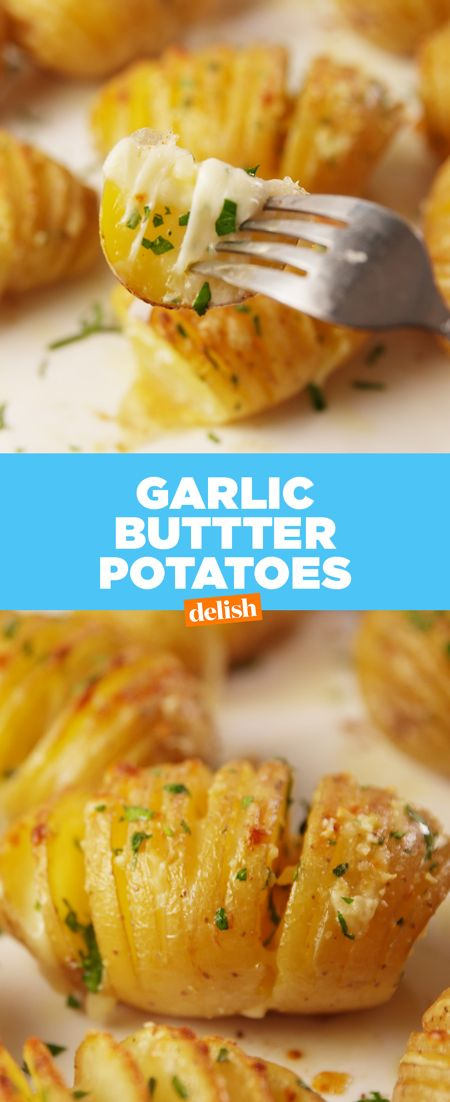 The best thing about Garlic Butter Potatoes? You can eat them with ANYTHING. Get the recipe from Delish.com.