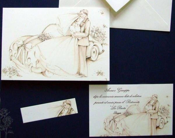 Partecipazioni matrimonio fai da te (Foto) | Matrimonio pourfemme