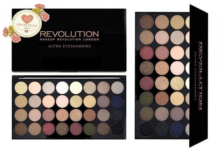 """""""#paletka #paletacieni #cieniedopowiek #cienie #makeuprevolution #flawless #makeup #makijaż #oczy"""""""