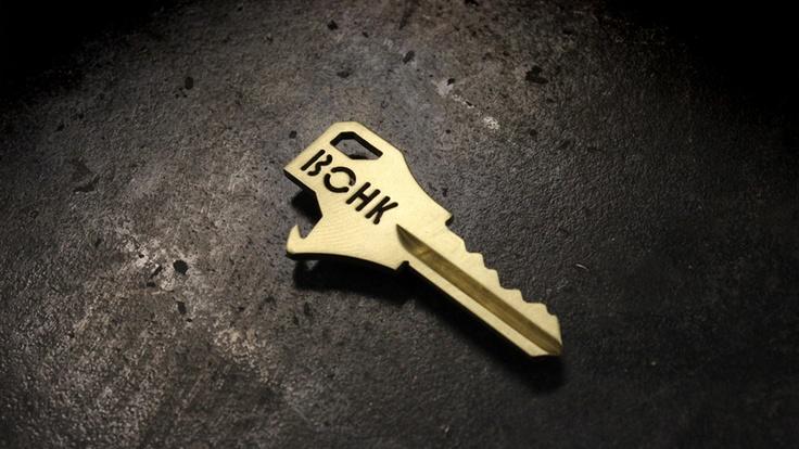 BOHK Bottle Opening House Key