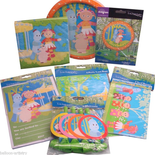 In The Night Garden Party Items Tableware Decorations All Under One Listing | eBay